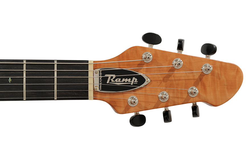 Ansicht RAMP H-RAY Plum Top – Semi Acoustic