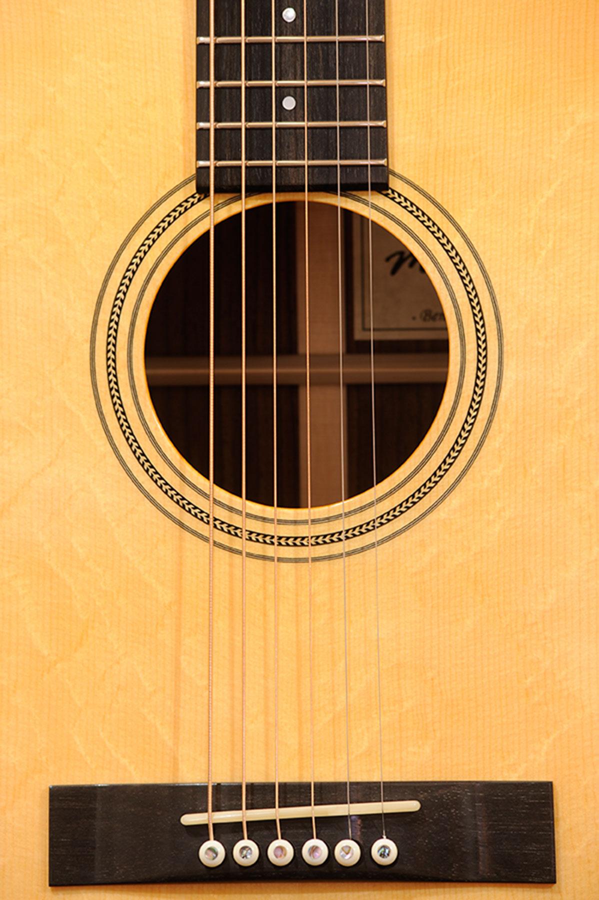 Handgefertigte Gitarre Detail